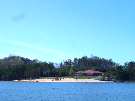 State Park Beach on Bedford Co Side